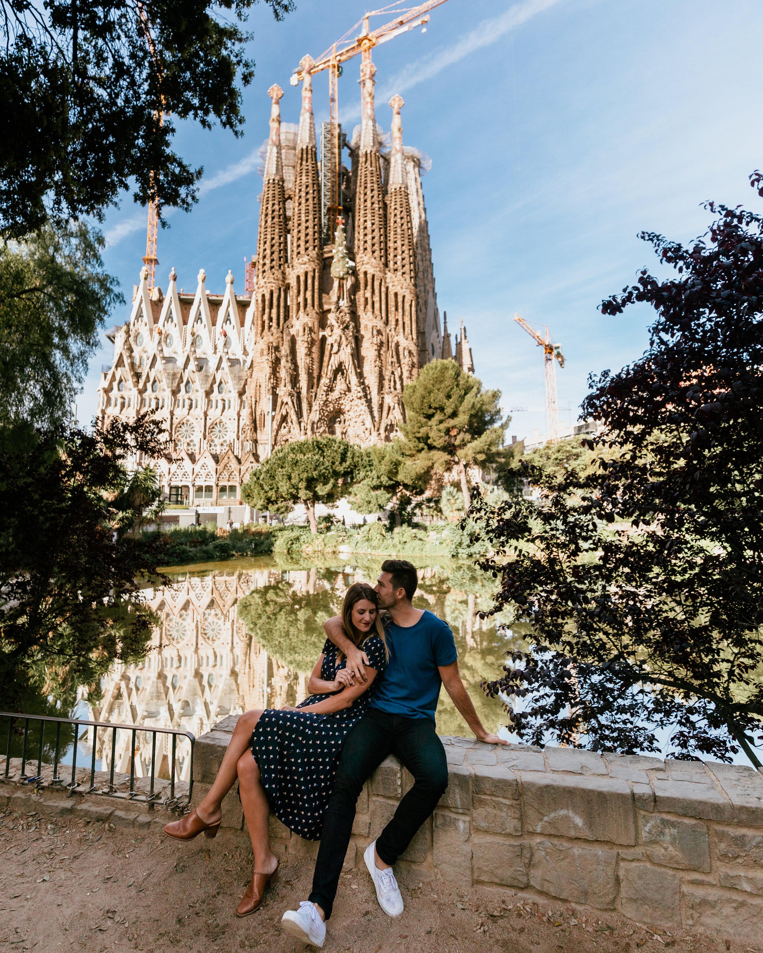 what to do in barcelona la sagrada familia