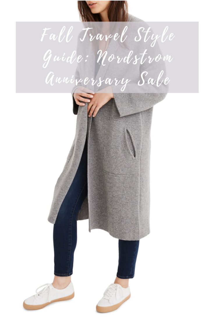 Fall Travel Style Guide Nordstrom Anniversary Sale