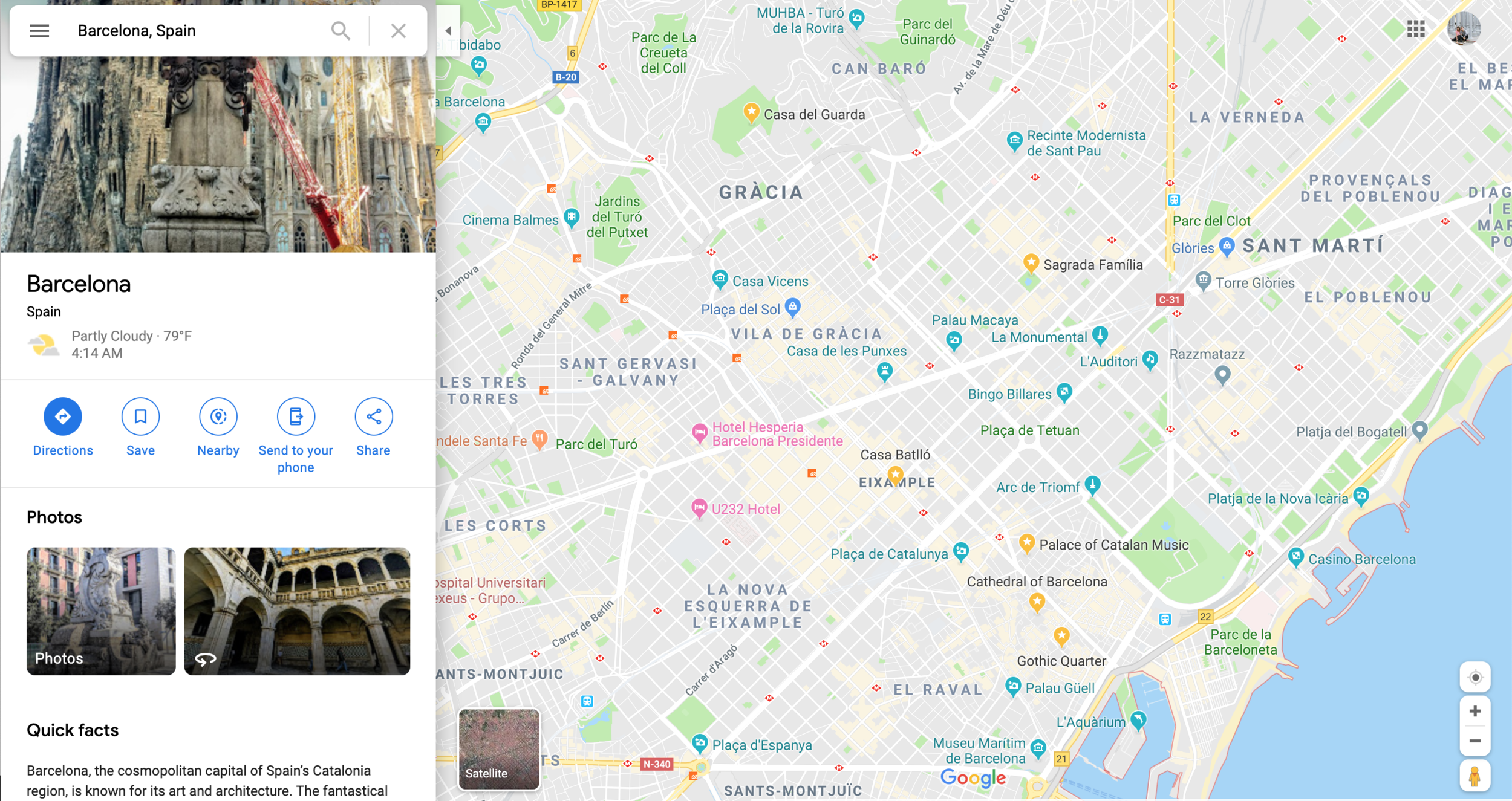 how to plan for an international trip how to star places on google maps