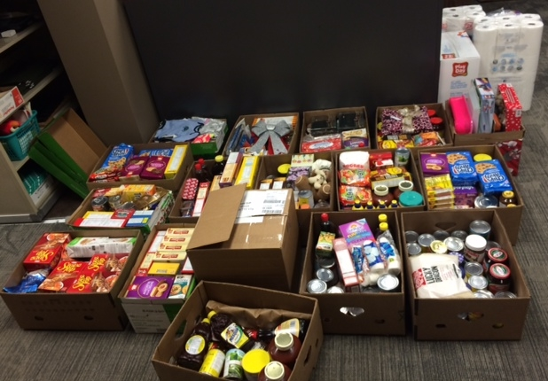 Birdsell Grant LLP - 2015 Donation to the Kinsmen Christmas Hamper!