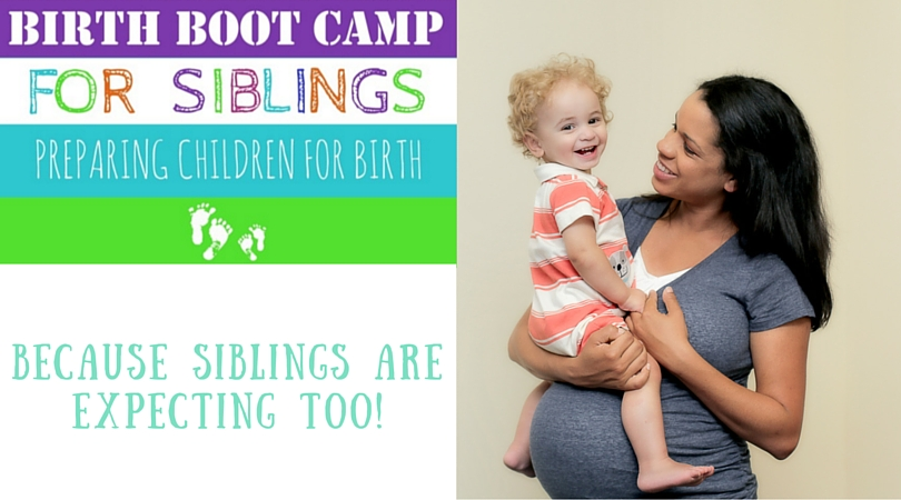 Will your kids be present for birth? Tips for preparing children for birth and a new baby.