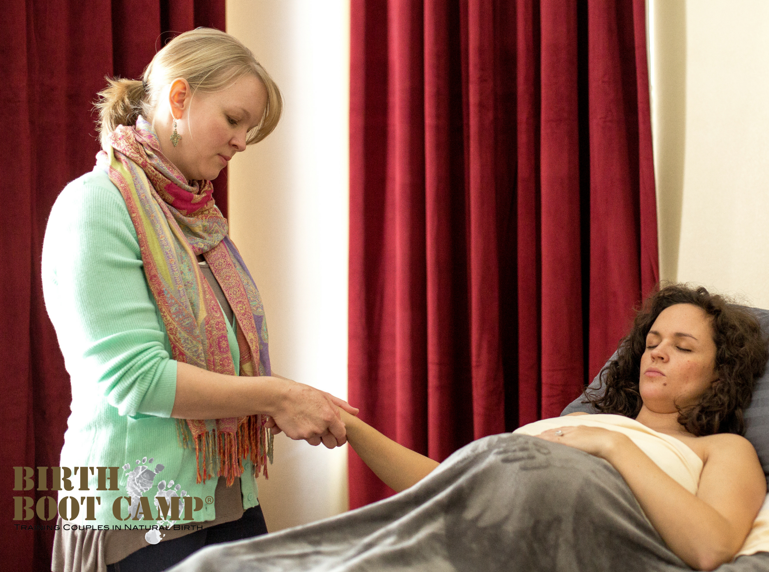 prenatal massage therapy