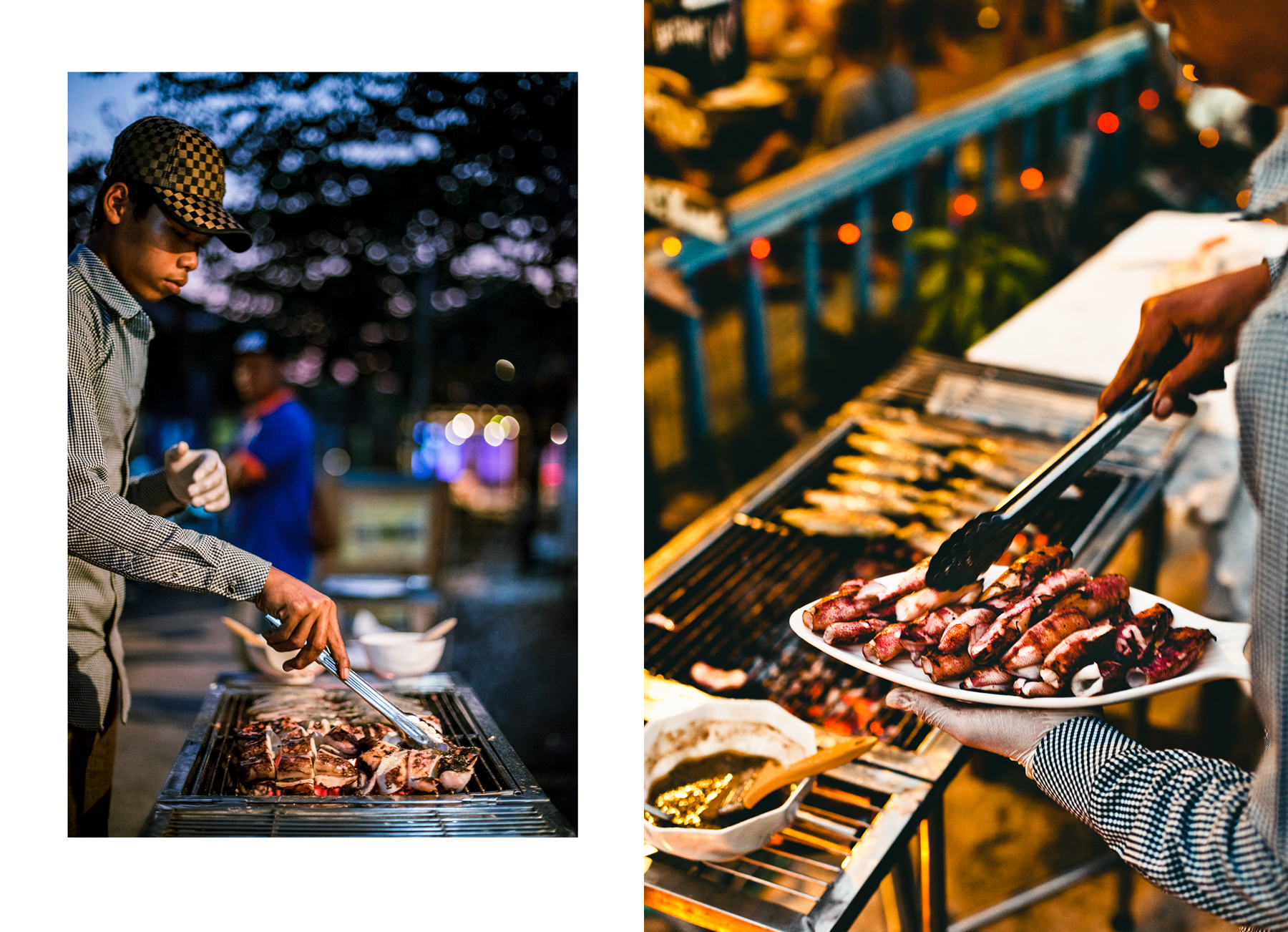 The barbecue buffénights at the Fishing Hook are vastly popular and requires booking in advance and prepayment.