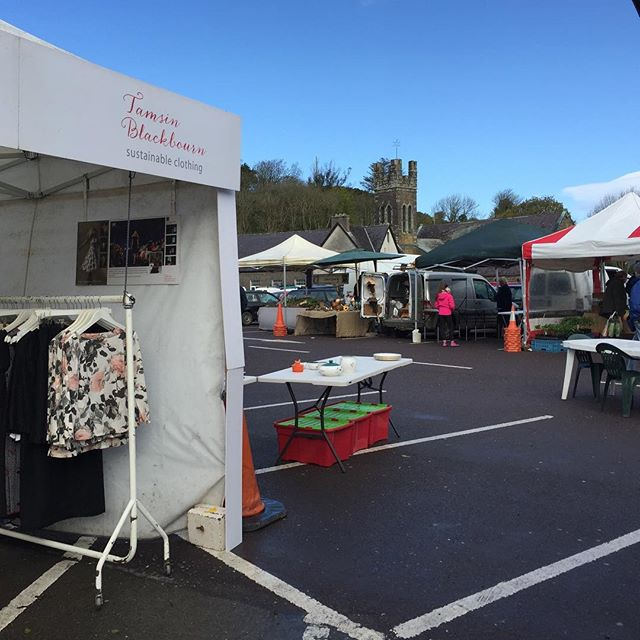 Still a bit breezy, but there are plenty of stalls @skibbereenmarket after Storm Hannah. . . . . . #calmafterthestorm #skibbereen #designermaker #artisanclothing #madeslow #choosewellbuyless #madeinireland #whomademyclothes #sustainable #consciousfashion #sustainablefashion #slowfashion #ethicalfashion #ethical #allyouneedisless #sustainability #makeitlast #ecoconscious #sustainabledesign #consciousdesign #lovedclotheslast