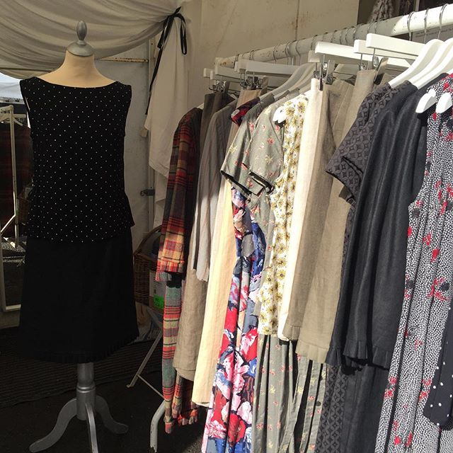 Catching morning sunshine @schullcountrymarket . . . . . . #schull #designermaker #artisanclothing #madeslow #choosewellbuyless #madeinireland #whomademyclothes #sustainable #consciousfashion #sustainablefashion #slowfashion #ethicalfashion #ethical #allyouneedisless #sustainability #makeitlast #ecoconscious #sustainabledesign #consciousdesign #lovedclotheslast #marketday