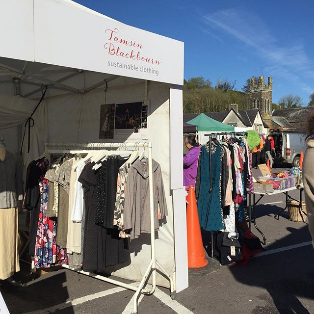 Looks like the Universe noted the request for blue skies and sunshine @skibbereenmarket ! . . . . . #bluesky #skibbereen #designermaker #artisanclothing #madeslow #choosewellbuyless #madeinireland #whomademyclothes #sustainable #consciousfashion #sustainablefashion #slowfashion #ethicalfashion #ethical #allyouneedisless #sustainability #makeitlast #ecoconscious #sustainabledesign #consciousdesign #lovedclotheslast
