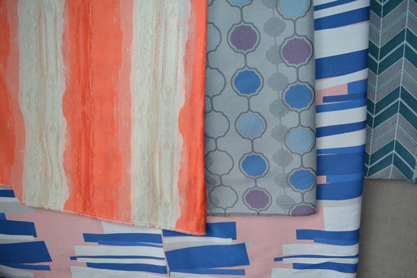 From left: Two designs by Gensler, FLAD's design, Highwoods' design.