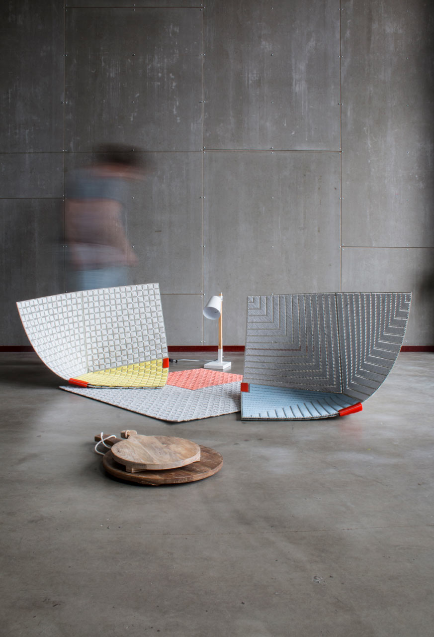 Design Academy graduate  Sam Linders presented two new, materials-focused designs during  Dutch Design Week this year.
