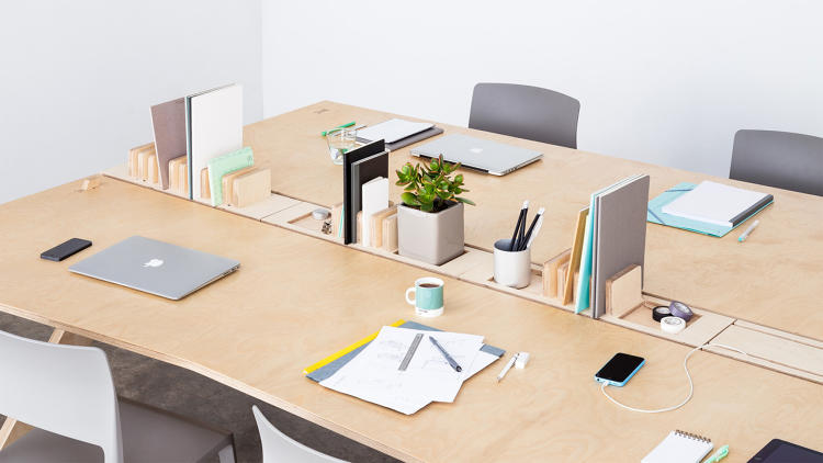 Now they're turning their attention to developing a range of smart products that integrates technology into their furniture--starting with the humble wooden desk.