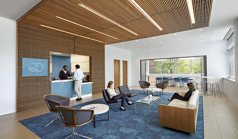 Reproductive Medicine Associates of CT in Norwalk, Connecticut by Amenta Emma Architects. Category: Ambulatory Care Centers - Medical Practice Suites. Image courtesy of the IIDA.
