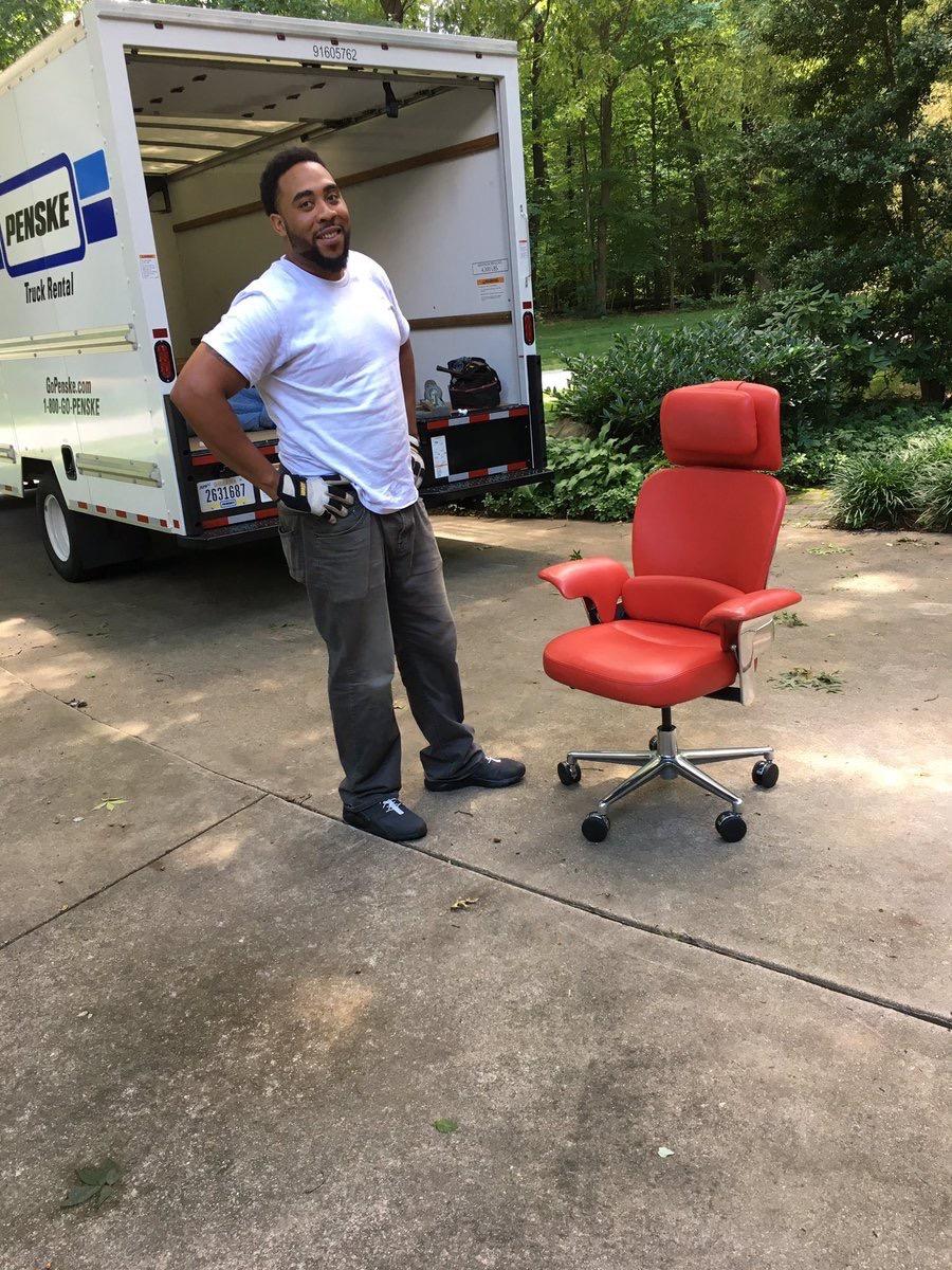 waltmossberg  My personal @Recode Red Chair arrives at Retirement HQ. pic.twitter.com/mbyKvvetPc  Jun 20, 2017, 12:20 PM