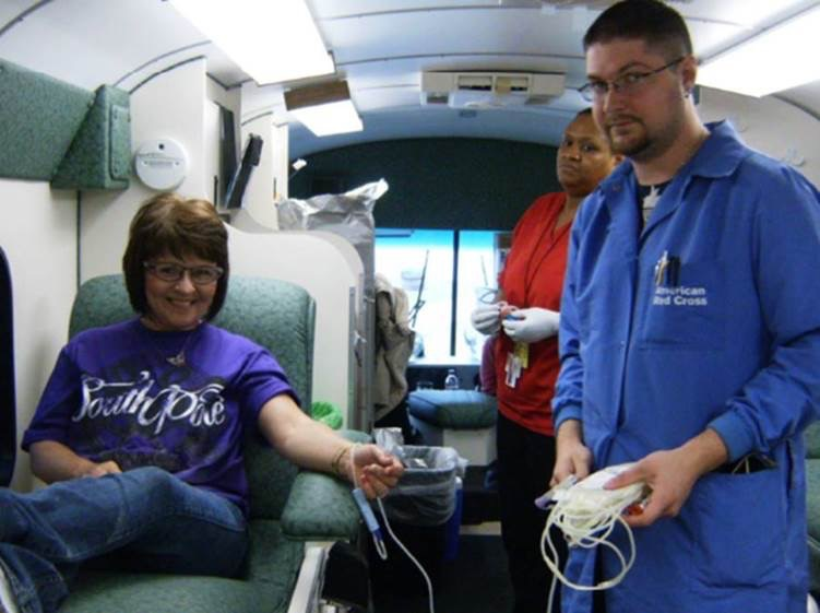 Kimball_Intl  Big Shout Out to everyone who participated in the blood drive! #29units #sharingiscaring pic.twitter.com/keBScCTMWv  Jun 23, 2017, 9:30 AM