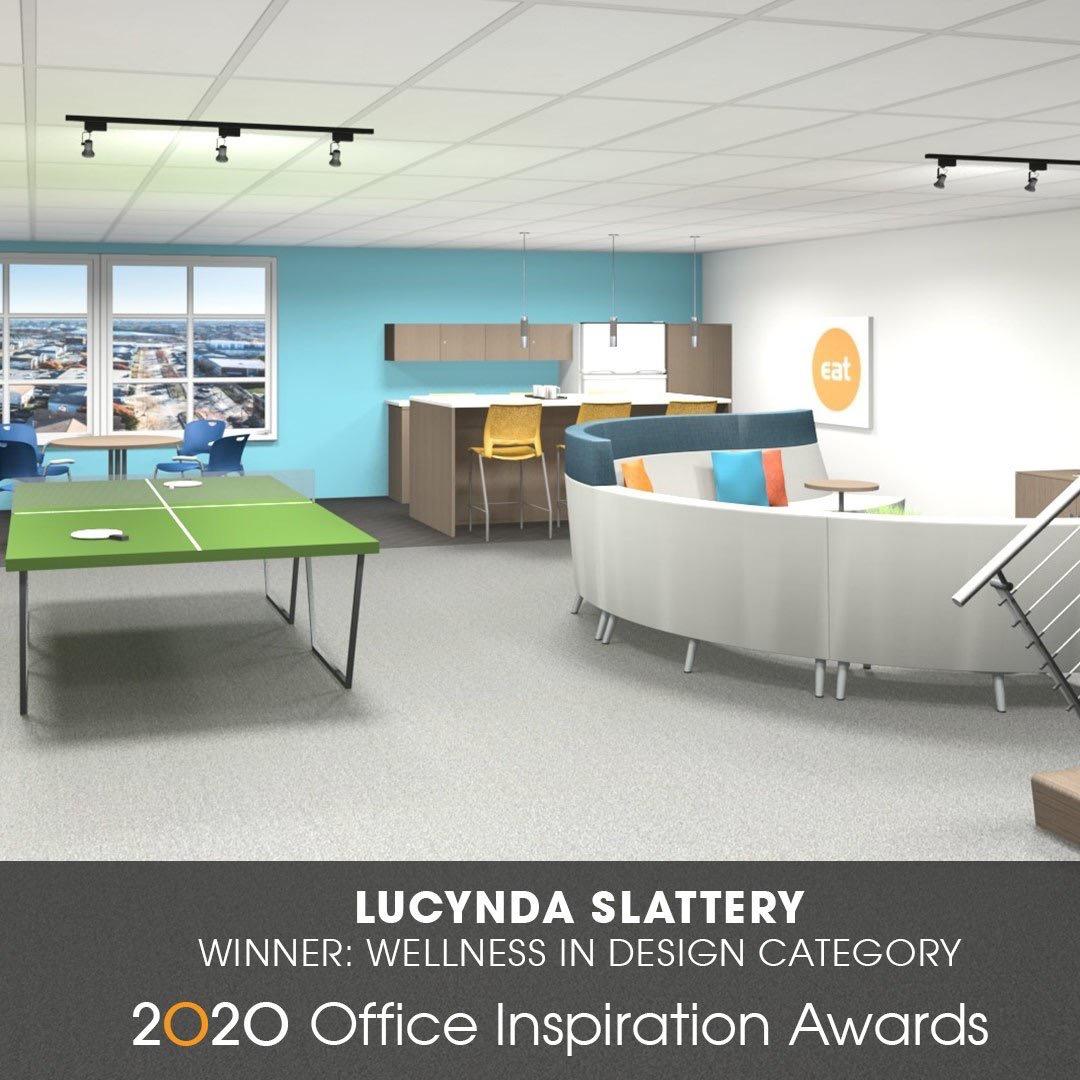 2020spaces  See designer Lucinda Slattery, Creative Office Pavilion winning design from 2020 Inspiration Awards! bit.ly/2sK4NIL #wellnessdesign pic.twitter.com/auS14u2AYP  Jun 23, 2017, 9:30 AM
