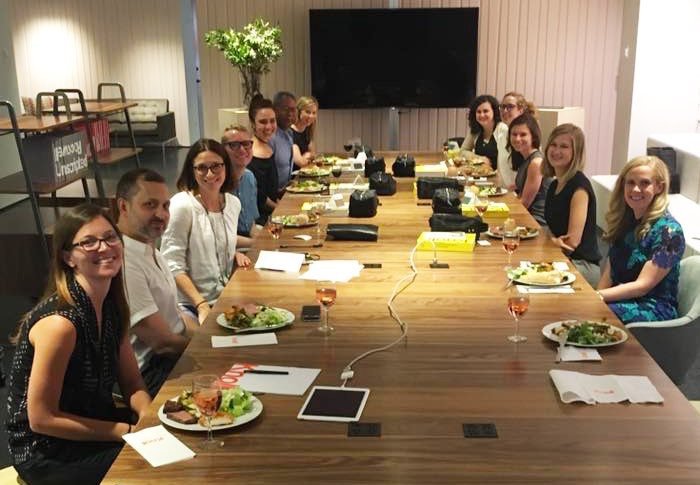 KnollTextiles  A big thanks to this fab group of designers for your social media insights! We hope you loved your KnollTextiles Djenne travel kit! pic.twitter.com/pjc2MqFrQI  Jun 23, 2017, 9:52 AM