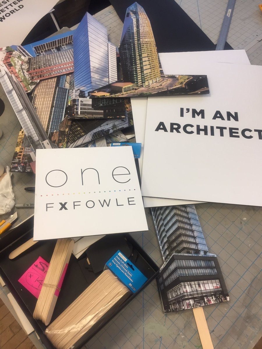 FXFOWLE  We're getting ready to march in #NYCPride this Sunday. To our knowledge, we're the 1st architecture firm to ever do so! #fxfone #Diversity pic.twitter.com/FLKpPRXZoy  Jun 23, 2017, 10:07 AM