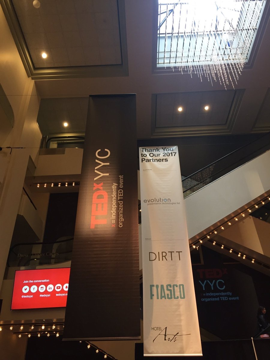 DIRTT  #DIRTT is thrilled to be attending @TEDxYYC Intersect as a sponsor today in #yyc! #inspire pic.twitter.com/gyK9sw4kZV  Jun 23, 2017, 1:58 PM
