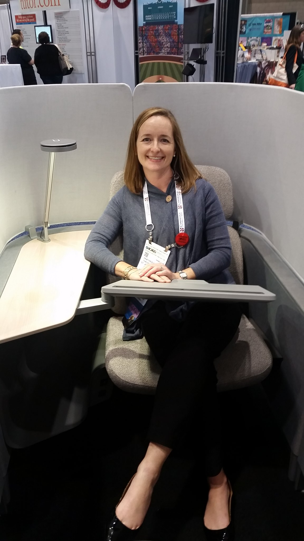 lazytribrarian  @ZuskasMama Make sure you try this out at #ISTE17 @SteelcaseEDU #alaac17 https://t.co/rz7UTEryXM  6/25/17, 3:27 PM