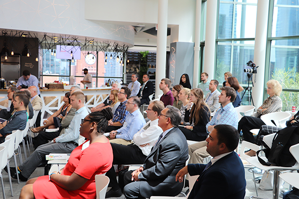 Over 75 professionals representing a variety of industries attended the third annual Legat/DIRTT Think Tank.