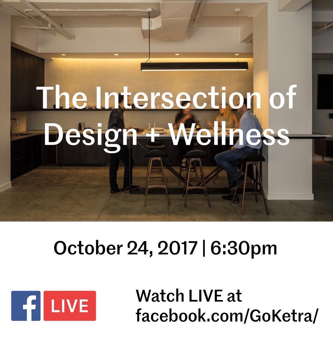 MetropolisMag  Join us LIVE tomorrow as @avirajagopal moderates The Intersection of Design+Wellness @goketra's showroom. RSVP here: goo.gl/YbQh3a pic.twitter.com/YAzp5dvK7h  Oct 23, 2017, 8:29 AM