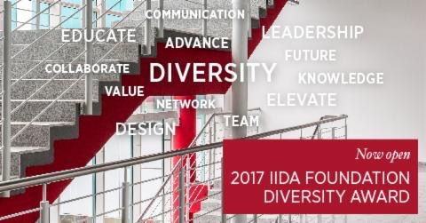 IIDA_HQ  The period to apply to the Diversity Award closes this Friday, Oct. 27. Enter today! bit.ly/2cV3nVq @IDECorg #diversityindesign pic.twitter.com/ElDtUGKo0m  Oct 23, 2017, 9:45 AM