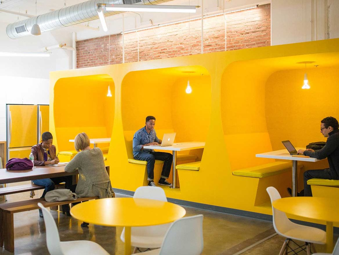 The workplaces of the future will be geared towards elevating worker performance in some unexpected ways.By WXY architecture + urban design,  courtesy of Kearny Point