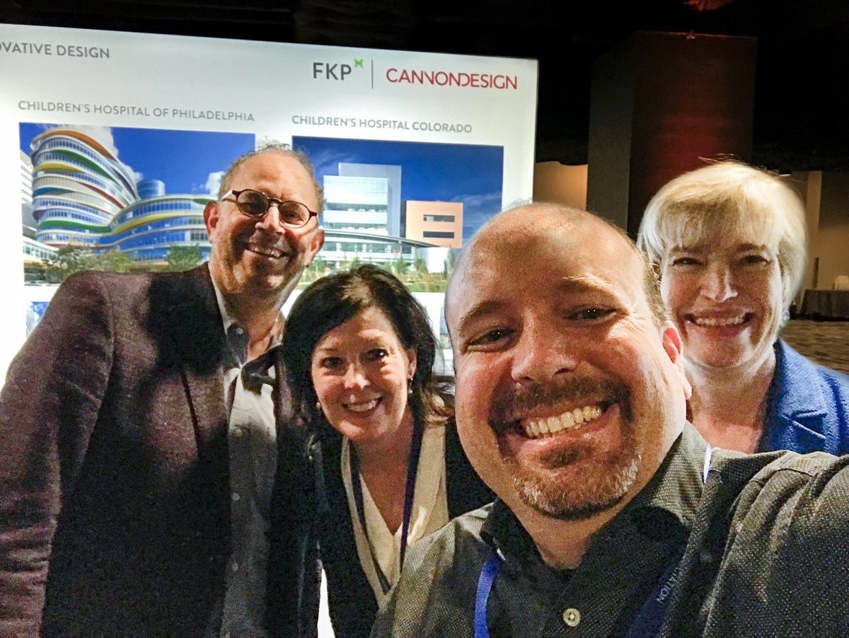 CannonDesign  We had a great time with @fkp_inc at #ALC17! Thanks @hospitals4kids for a great conference! pic.twitter.com/phUGuXiJpq  Nov 9, 2017 at 6:04 AM