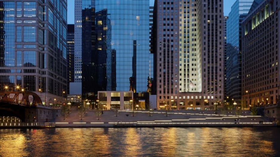 Chicago Riverwalk [Photo: Kate Joyce Studios/courtesy AIA]