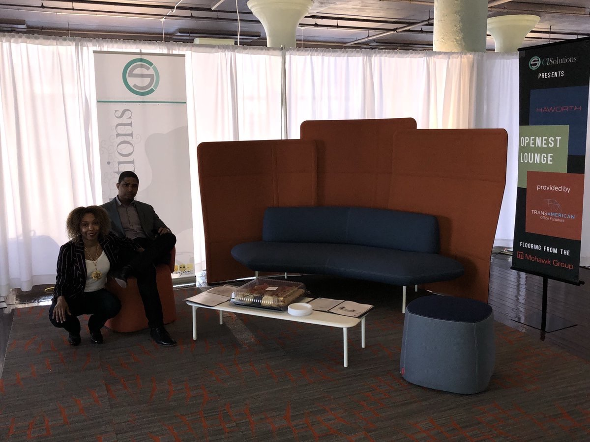 CI_SolutionsLLC  The @CI_SolutionsLLC's Openest Lounge! #CISolutions @Haworthinc @MohawkGroup pic.twitter.com/lij7chso6S  Feb 15, 2018 at 5:25 PM