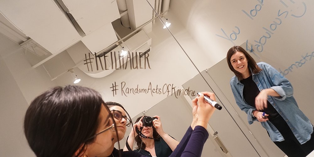 Keilhauer  Keilhauer is celebrating #RandomActsofKindnessDay one day early with some messages of positivity #RandomActsofKindness #Keilhauer pic.twitter.com/eyzdiFmmOb  Feb 16, 2018 at 12:47 PM