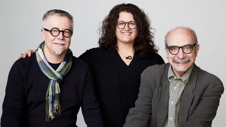 Tim Brown , Sandy Speicher , and David Kelley [Photo: courtesy Ideo]