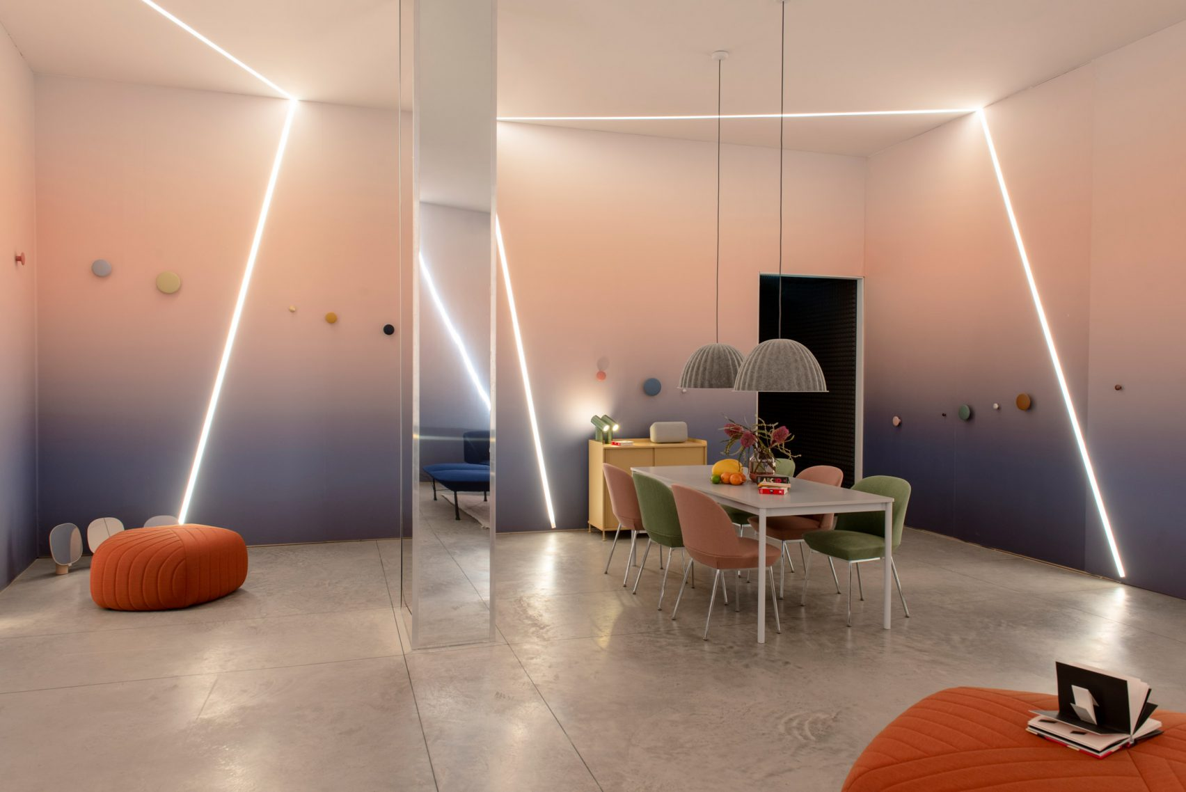 The second room, Vital, has a more playful design
