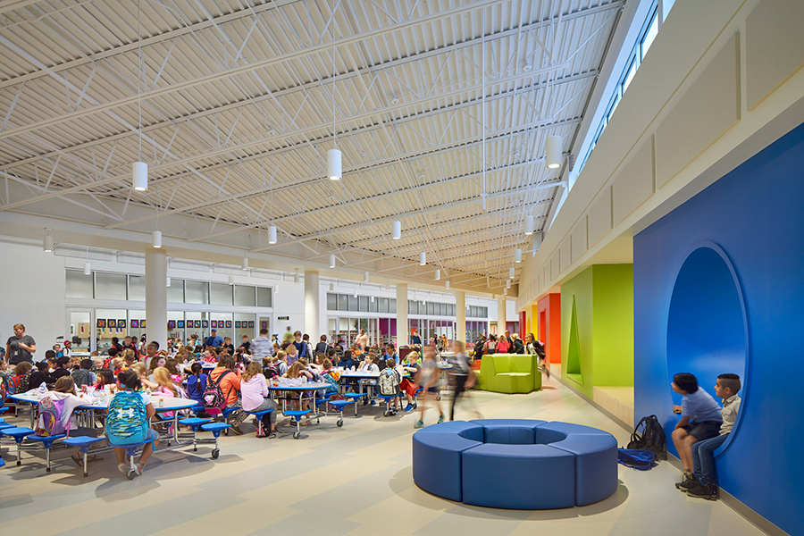 In Rockford, Illinois, CannonDesign updated six elementary schools and built two new ones. In the course of designing the latter, the team engaged with faculty and students about their needs and wants.   Courtesy Christopher Barrett/CannonDesign