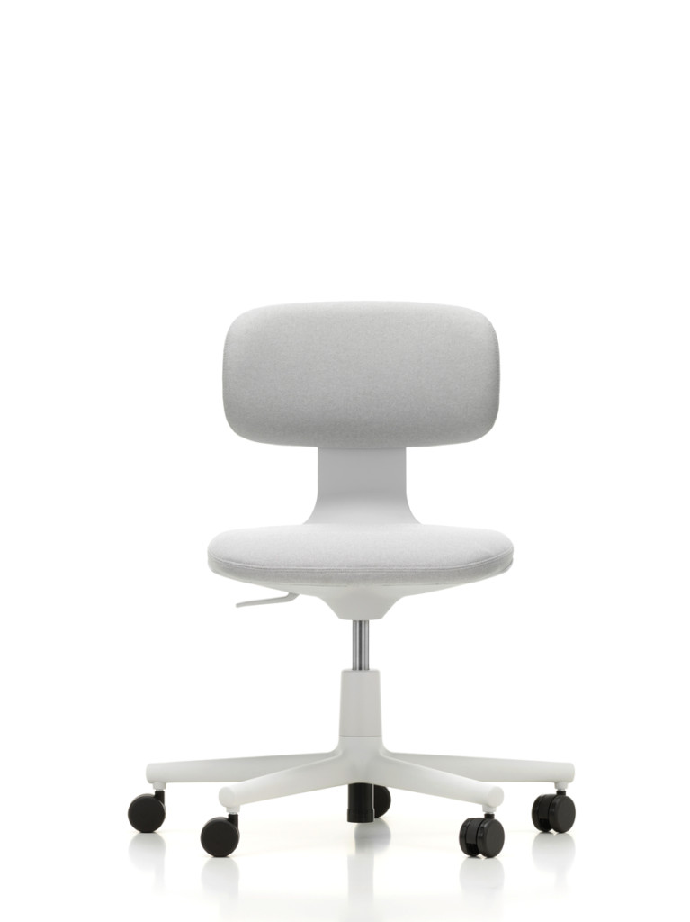 """ROOKIE  A petite, adjustable work chair by Konstantin Grcic """"symbolizes that magic moment when something new is beginning,"""" he says. VITRA"""