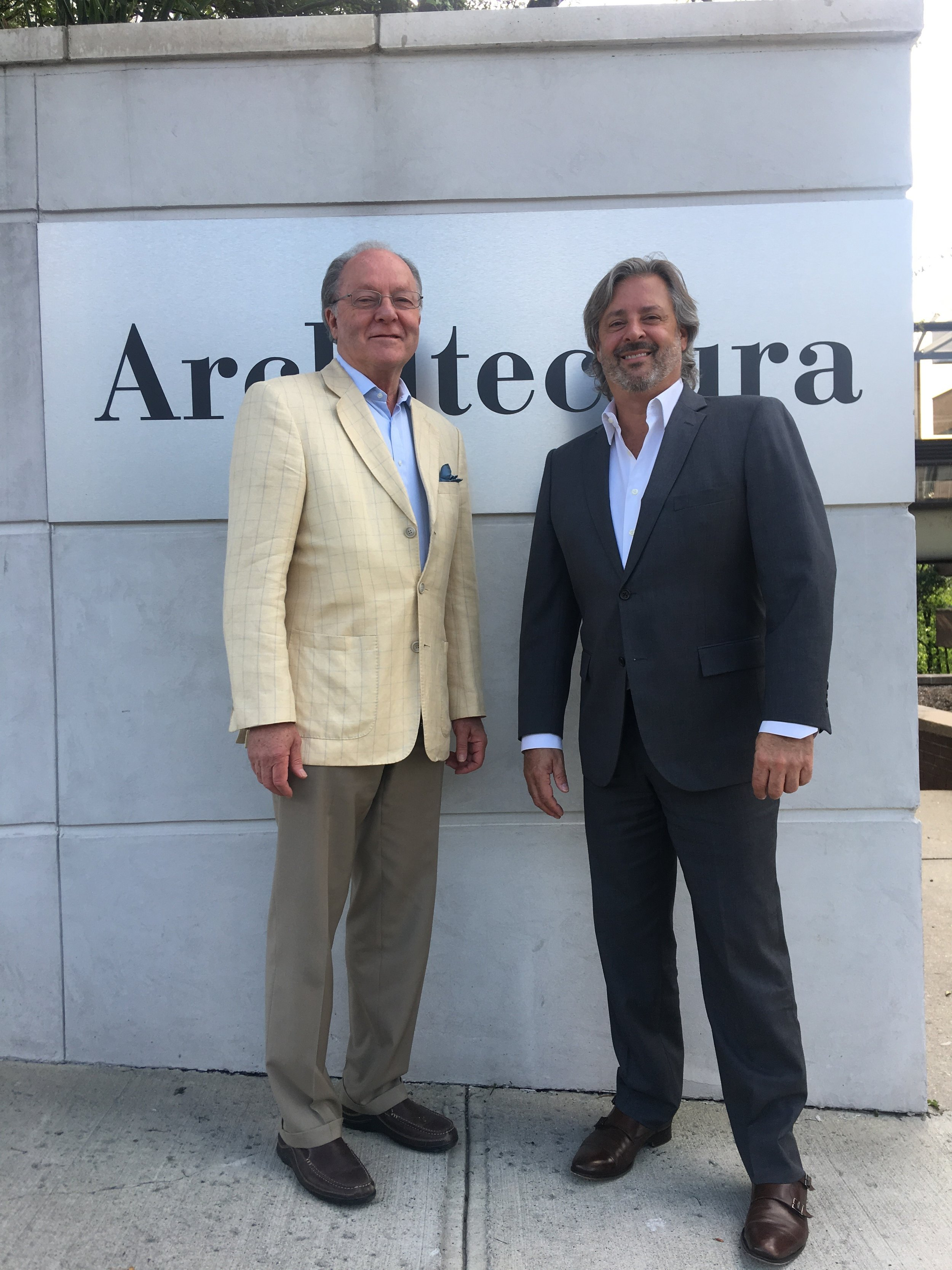 Ted Hammer, Managing Principal and Conrad J. Roncati, CEO, Architectura