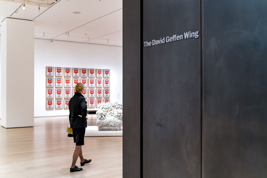 New galleries are found in the museum's David Geffen Wing.
