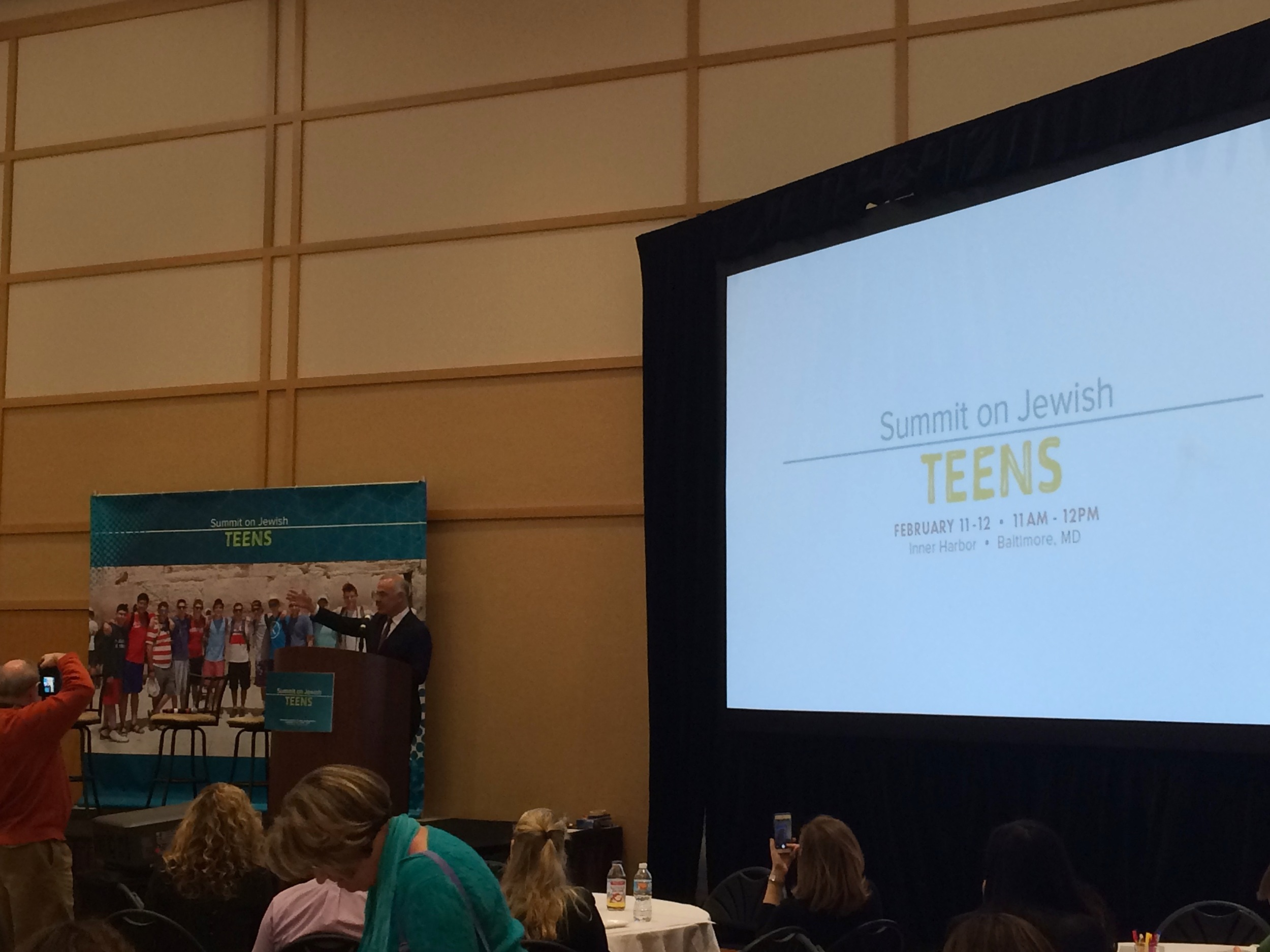 David Brooks, New York Times columnist and author of  The Road to Character , addresses the Summit on Jewish Teens about building a Jewish future.