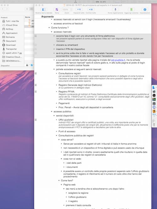 """Monitor secondario: iPad Pro 12,9"""" posizionato in verticale"""