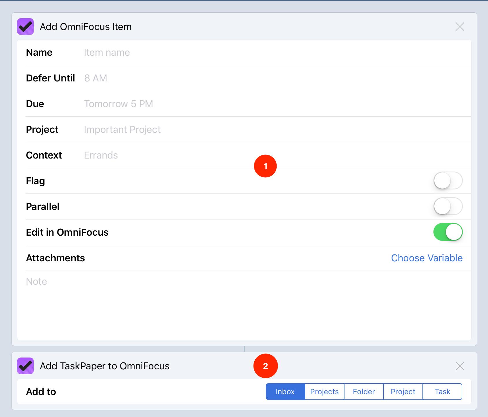 02 - le due azioni di Workflow per OmniFocus.jpg