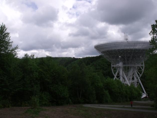 The Radioteleskop Effelsberg near Bad Münstereifel, Germany (2014)