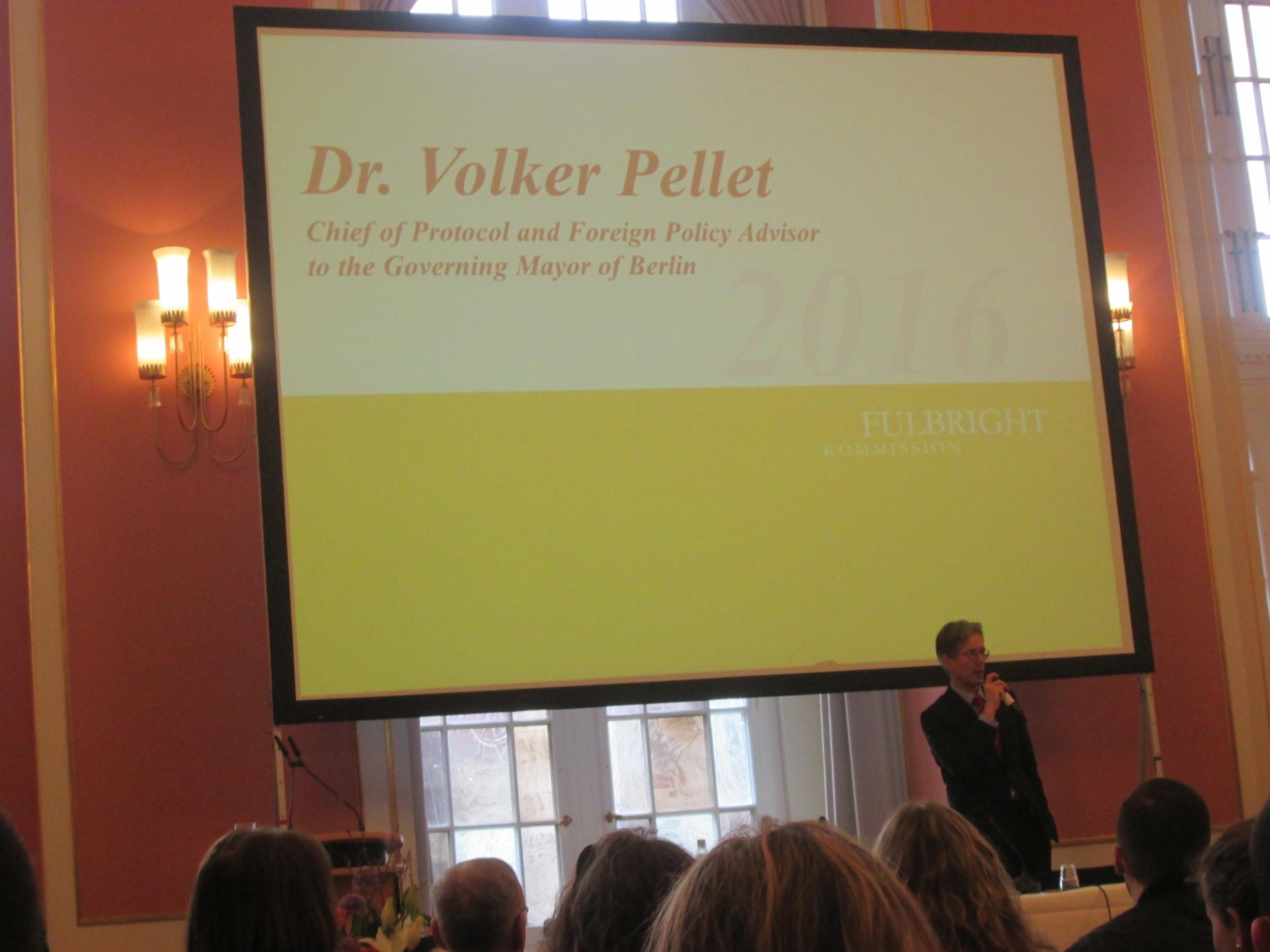 Dr. Volker Pellet