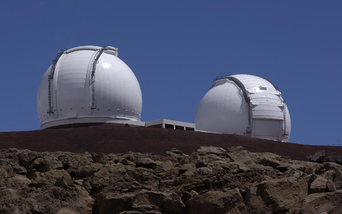 Keck Observatory (T. Wynne / JPL)