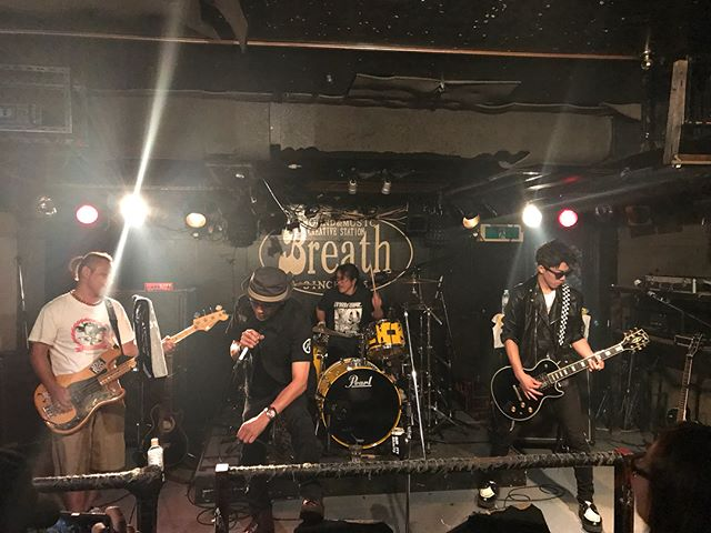 Big thank you to the venue and everybody involved and all the bands at Breath last night. Breath is a small-town, underground venue that is owner operated and built by the owner himself. What an honer to play at such an amazing space. Thanks to Out Of Place and 4 Face for playing with us! Really great night! 🇯🇵🤘🏻🙏🏻#arigatou #bumcitydoesjapan #bumcitysaints #bcs #japantour2018 #piratespressrecords #rnrtours @piratespressrecords @rnrtours #japan