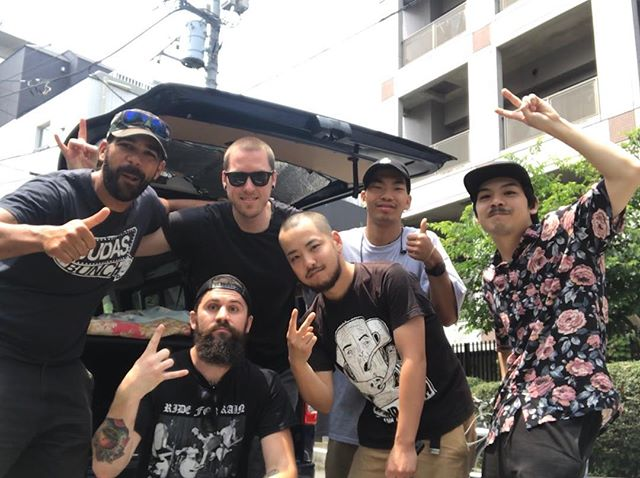 We want to give a huge THANK YOU to @rnrtours for making our first (but certainly not our last) Japan experience so amazing! These guys are the real deal. Thank you for all of the accommodations and for taking care of every little detail of the tour so we could focus on having a good time and playing music. Thank you for the amazing experience; we found more than a great booking team, we found some great friends for life. Hope too see you soon Japan!  Doumo arigatou gozaimasu 🙏🏻😌🇯🇵 どうもありがとうございます  #bumcitydoesjapan #bumcitysaints #bcs #japantour2018 #piratespressrecords #rnrtours #japan #arigato @piratespressrecords @imyousukefujita @shaun_dope339