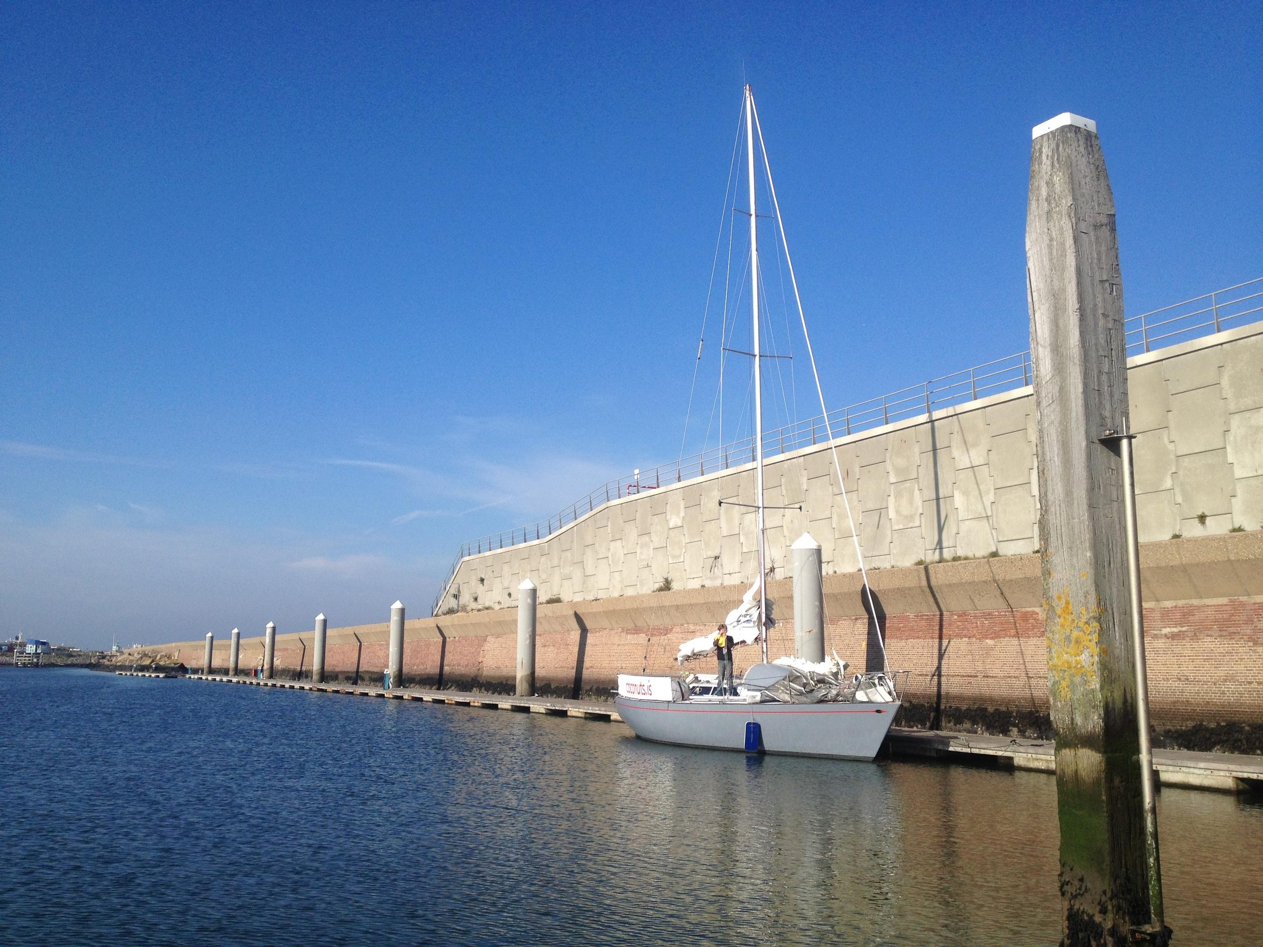 Berth at Seaport Marina, Netherlands