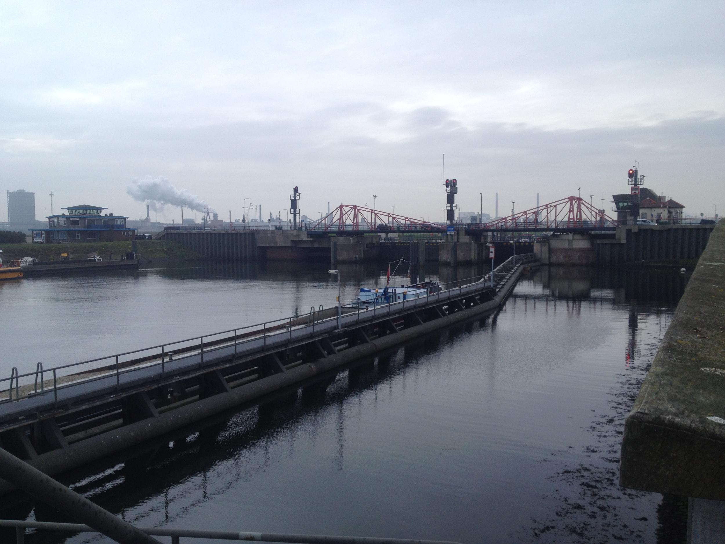 Locks at IJmuiden