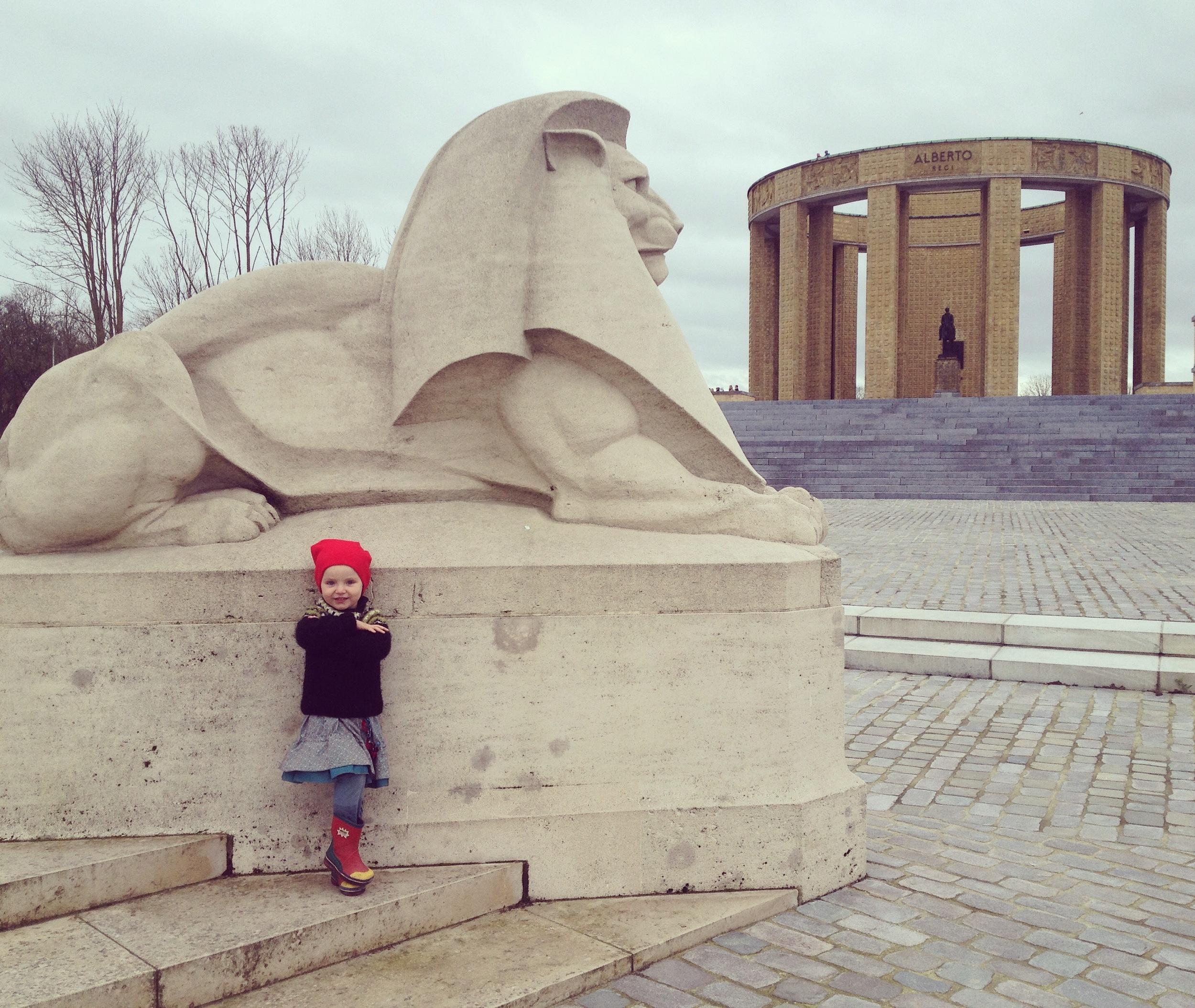 King Albert I monument war memorial, Nieuwpoort