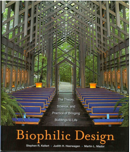Thorncroft Chapel, Eureka Springs, Arkansas – Many successful biophilic designs are inspired by qualities and features of natural settings without being exact duplicates. Photo credit: Whit Slemmons