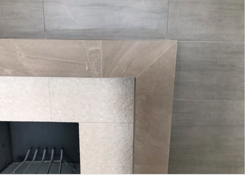 AFTER FIREPLACE DETAIL