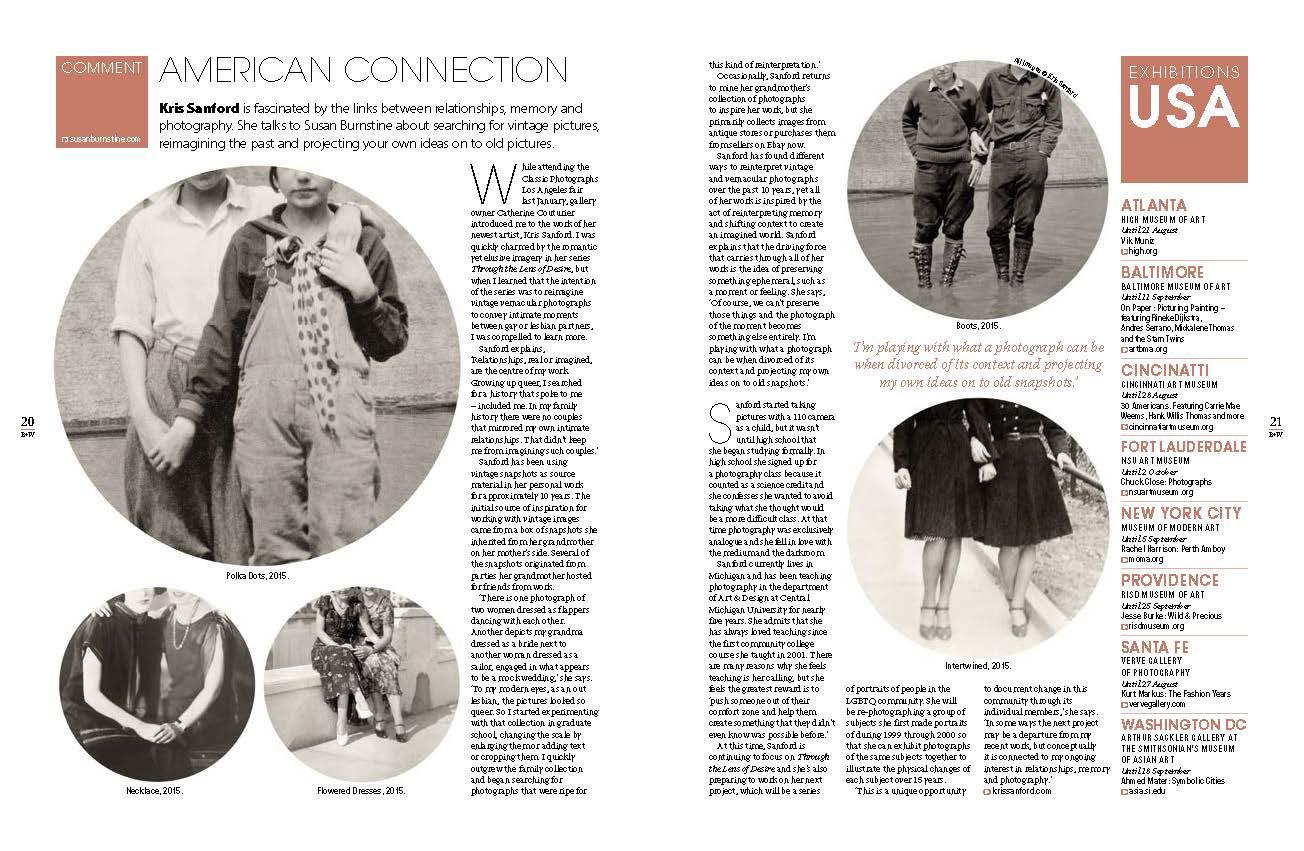 Courtesy of Black + White Photography Magazine (UK) August issue #192