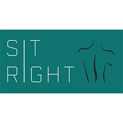 SitRight   SitRight is a smart sensor pad that can attach to any computer chair to track sitting habits and overall improve posture
